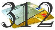 Credit card with 312 Credit Score