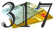 Credit card with 317 Credit Score