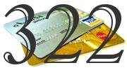 Credit card with 322 Credit Score