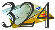 Credit card with 324 Credit Score