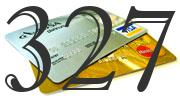 Credit card with 327 Credit Score