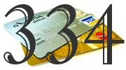 Credit card with 334 Credit Score