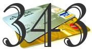 Credit card with 343 Credit Score