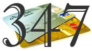 Credit card with 347 Credit Score