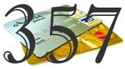 Credit card with 357 Credit Score