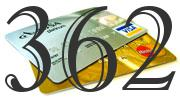Credit card with 362 Credit Score
