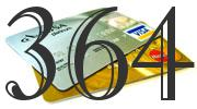 Credit card with 364 Credit Score
