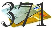 Credit card with 371 Credit Score