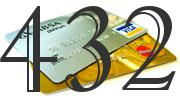 Credit card with 432 Credit Score