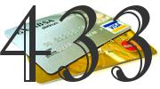 Credit card with 433 Credit Score