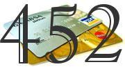 Credit card with 452 Credit Score
