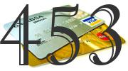 Credit card with 453 Credit Score