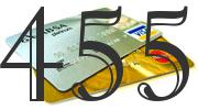 Credit card with 455 Credit Score