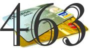 Credit card with 463 Credit Score