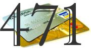 Credit card with 471 Credit Score