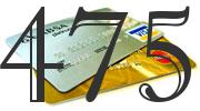 Credit card with 475 Credit Score