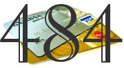Credit card with 484 Credit Score