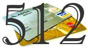 Credit card with 512 Credit Score