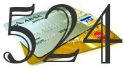 Credit card with 524 Credit Score