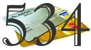 Credit card with 534 Credit Score