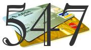 Credit card with 547 Credit Score
