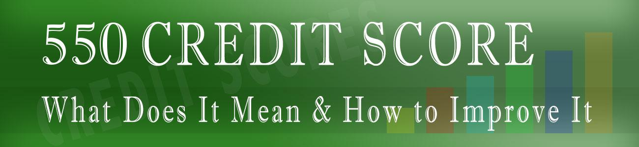 550 Credit Score Credit Card >> 550 Credit Score How Bad Is It Personal Loans With 550 Score