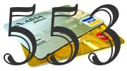 Credit card with 553 Credit Score