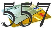 Credit card with 557 Credit Score