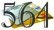 Credit card with 564 Credit Score