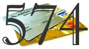 Credit card with 574 Credit Score