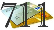 Credit card with 711 Credit Score
