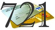 Credit card with 721 Credit Score