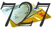 Credit card with 727 Credit Score