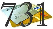 Credit card with 731 Credit Score