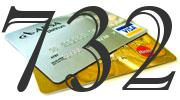 Credit card with 732 Credit Score