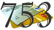 Credit card with 753 Credit Score