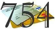 Credit card with 754 Credit Score