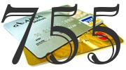 Credit card with 755 Credit Score