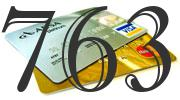 Credit card with 763 Credit Score