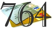 Credit card with 764 Credit Score