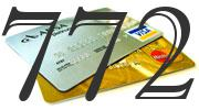 Credit card with 772 Credit Score