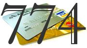 Credit card with 774 Credit Score