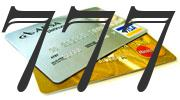 Credit card with 777 Credit Score