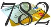 Credit card with 782 Credit Score