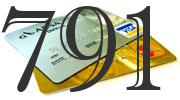 Credit card with 791 Credit Score