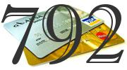 Credit card with 792 Credit Score