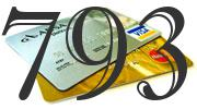 Credit card with 793 Credit Score