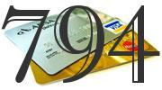 Credit card with 794 Credit Score