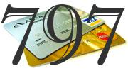 Credit card with 797 Credit Score