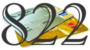 Credit card with 822 Credit Score
